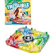 POP-O-MATIC Trouble Game by Hasbro - Milton Bradley