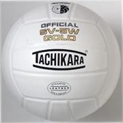 Tachikara� SV-5W Gold Leather Volleyball