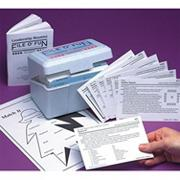File o&#039; Fun Patio and Game Activities Cards