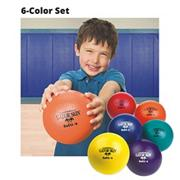6&quot; Gator Skin Softi Balls  (set of 6)