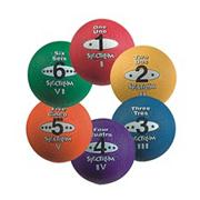 "8-1/2"" Spectrum� 5-in-1 Playground Balls  (set of 6)"