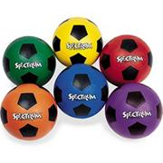 Spectrum Rubber Soccer Ball Set  (set of 6)