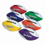 Spectrum Rubber Football Set  (set of 6)
