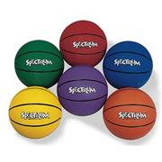 Spectrum� Rubber Basketball Set  (set of 6)