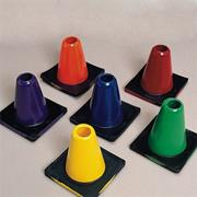 6&quot; Spectrum Poly Cones  (set of 6)