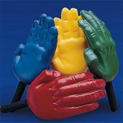 Foam Hand Paddles  (pair)