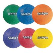 7&quot; Spectrum Playground Balls  (set of 6)