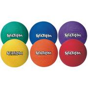 8-1/2&quot; Spectrum� Playground Balls  (set of 6)
