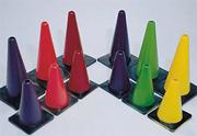 "12"" Spectrum� Poly Cones  (set of 6)"