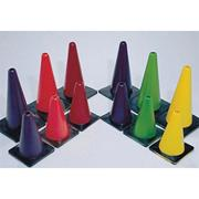 18&quot; Spectrum Poly Cones  (set of 6)
