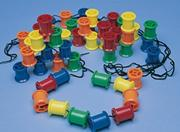 Spools &amp; Laces Manipulative Set 