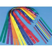 Spectrum Ribbon Wands 36&quot; long  (set of 6)