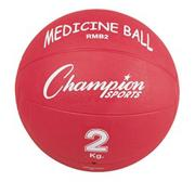 Rubber Medicine Ball 4.4lbs.