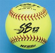 "Dudley� NFHS Fast Pitch Softball 12"" SB12LRFY FP"