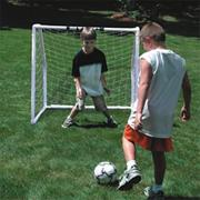 "Indoor/Outdoor Soccer Goal - 48""W x 48""H x 33""D"