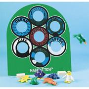 Habitat Toss Set with Beanbag Animals
