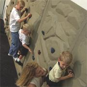 Soft Play� Rock Course Climbing Panel 4x8'