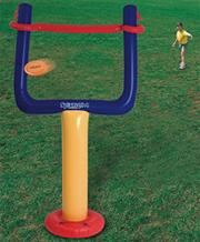Jumbo Goal and Inflatable Football Set