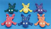 SpectrumRubber Frog Set  (set of 6)