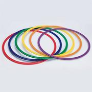 Spectrum� Flat Hoops (set of 6)