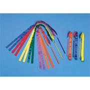 36&quot; Multicolored Ribbon Wands (set of 6)