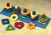 Shape and Color Sorter by Lauri