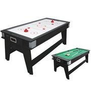 2-1 Flip Hockey/Pool Table, 7&#039;