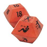 10 Sided Fitness Dice (set of 2)