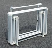 Hi-Low Hurdle and Carry Cart Set