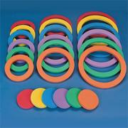 Spectrum Versa Foam Ring and Disc Set  (set of 24)