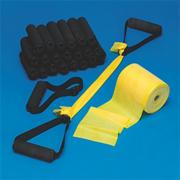 Can Do Exercise Band Kits, Light (kit of 24)