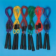 SpectrumAdjustable Length Jump Rope (set of 6)