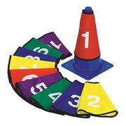 Numbered Cone Covers  (set of 10)