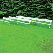 Bench with Back, 15' Permanent