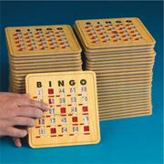 Quick Clear Bingo Slide Card  (pack of 50)