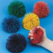 "Spectrum��4-1/2"" Kooshie Ball, Solid Color (set of 6)"