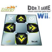 DDR Energy Metal Dance Pad for Wii