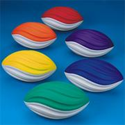 Spectrum� Spiral Foam Football Set  (set of 6)