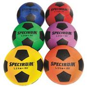 Spectrum Lite-80 Soccer Ball Size 4 Set (set of 6)