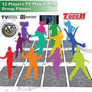 12-Player TV Plug-and-Play DDR System
