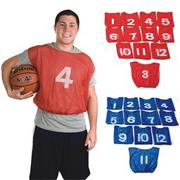 Spectrum Adult Numbered Mesh Pinnies (dozen)
