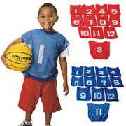 Spectrum� Youth Numbered Mesh Pinnies (dozen)