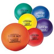 Gator Skin Official Adult Dodgeball 6-Color Set (set of 6)