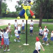 Gym-I-Nee Playground Hoop Game