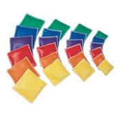 Spectrum Vinyl  Square Beanbags (set of 12)