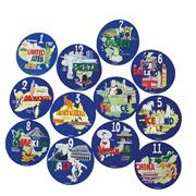 Around the World Spots (set of 12)