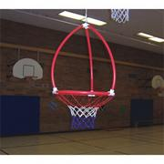 Moving Hoop Basketball Target