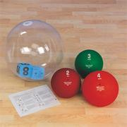 Exerball Medicine Ball Station Teen/Adult Pack
