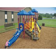 UP &amp; Away Triple Deck Play System