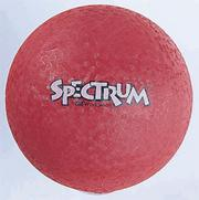 16&quot; Spectrum Playground Ball, Red